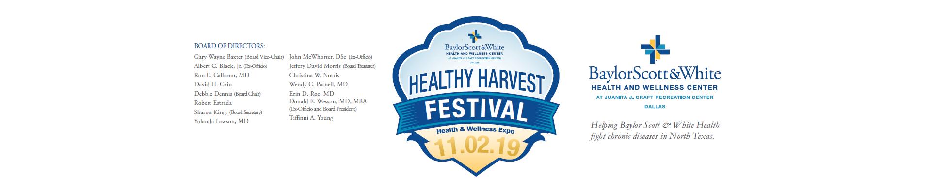 Healthy Harvest Festival 11.02.19