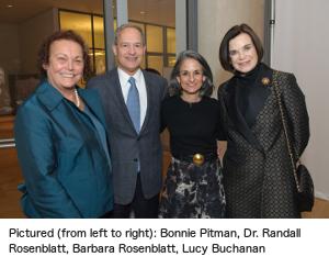 Bonnie Pitman, Dr. Randall Rosenblatt, Barbara Rosenblatt, Lucy Buchanan