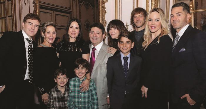 Eddie and Candy DeBartolo with their family